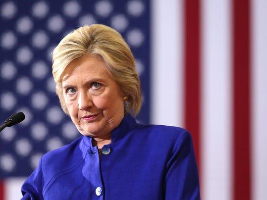 Clinton rally
