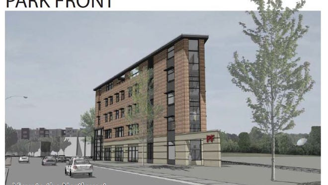 Plans for a new office building at the old Boise Cascade site.