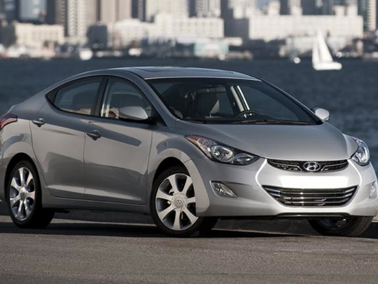 Investigators are looking for a light-colored 2013 Hyundai Elantra, similar to the model pictured here, in connection with two shooting victims found along I-85 on Christmas Eve morning.