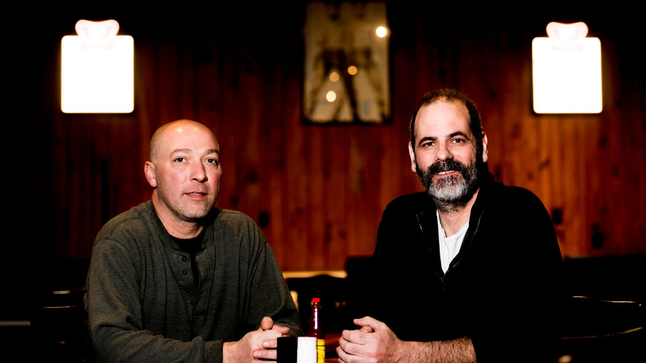 Troubadour Roadhouse and Performance Hall owners Kit Rodgers and Cullen Kehoe speak about their new restaurant in Bearden on Thursday, February 1, 2018.