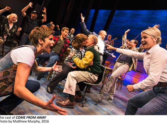 """""""Come From Away"""" received seven nominations, including best musical."""