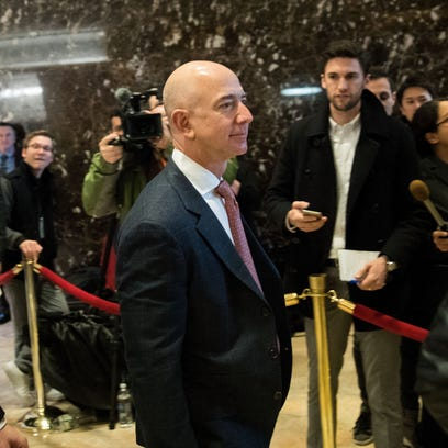 Jeff Bezos is now the second-richest person in the world