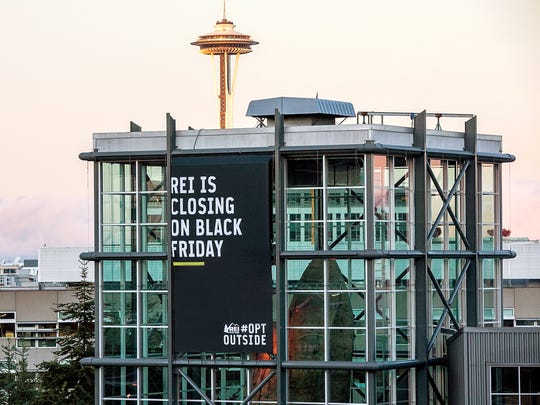 Outdoor retailer REI announced it would close all its