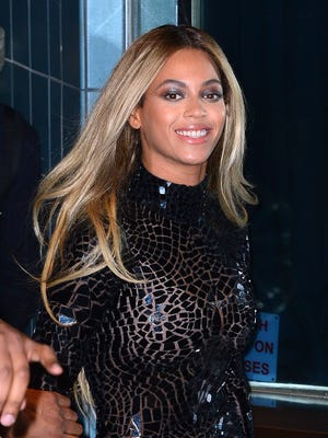 Entertainer Beyonce attends a release party and screening for her new self-titled album 'Beyonce' at the School of Visual Arts Theater on Dec. 21, 2013 in New York.