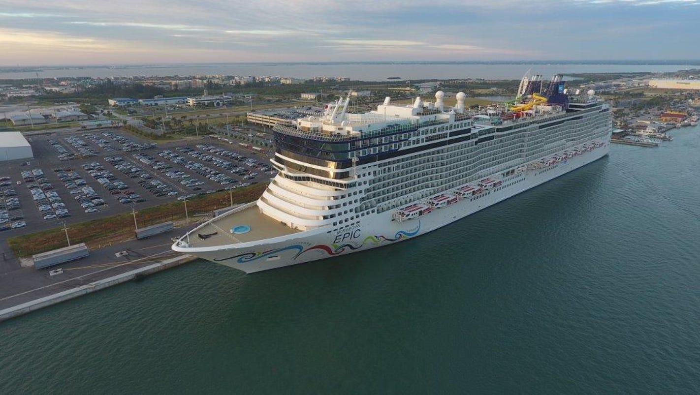 Norwegian Epic Makes Its Debut At Port Canaveral - Bvi ports authority cruise ship schedule