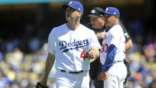 Rich Hill is back on the disabled list after leaving another start prematurely due to a blister problem.