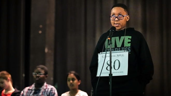 The regional spelling bee for Shelby County students is moving to Nashville, at least for this year.