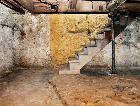 Decrepit basement