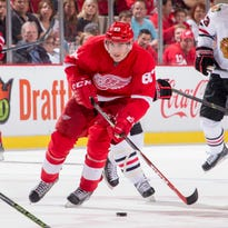 Nosek finally breaking through with Red Wings