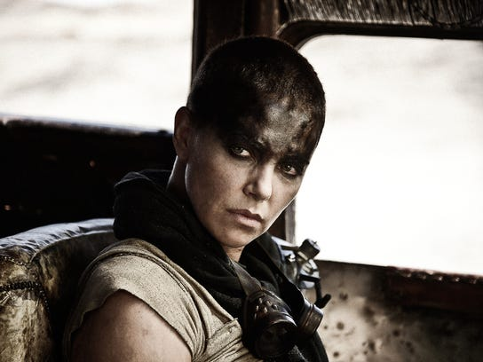 "Charlize Theron as Imperator Furiosa in ""Mad Max: Fury"