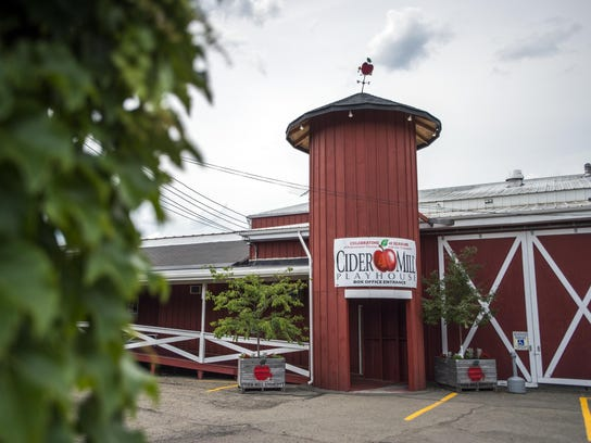 The Cider Mill's theater is located at 2 Nanticoke