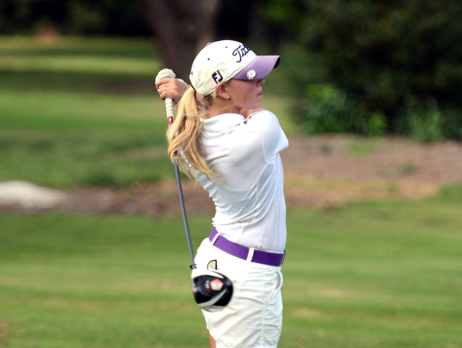 Milan High School's Arianna Clemmer shot a 75 Monday to lead all girls at the FCA Invitational.
