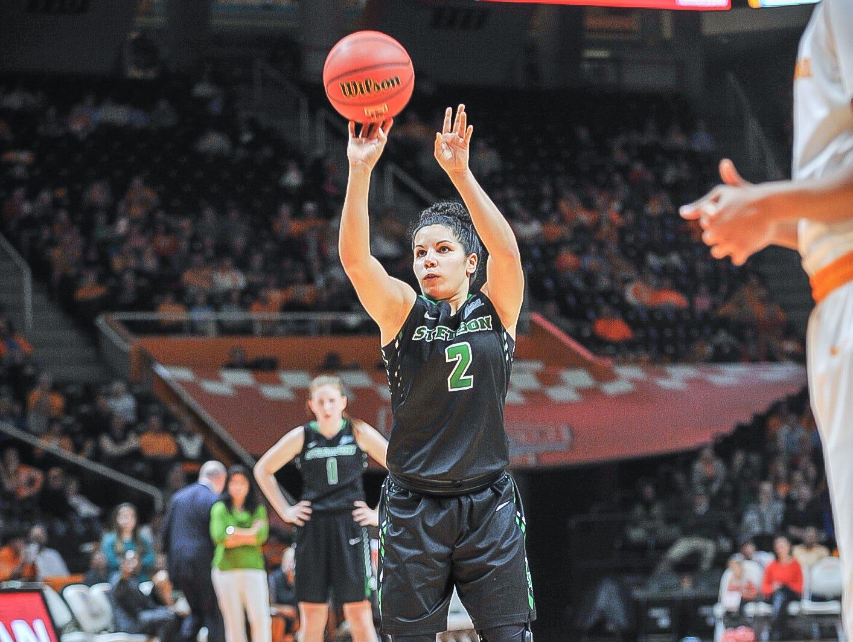 McKenna Beach has been an impact freshman for the Stetson University women's basketball team.