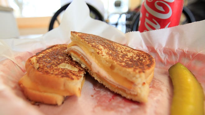 Papaw's favorite is one of the best sellers at The Wedge, a new grilled cheese shop in Yorktown. The sandwich includes gouda cheese and turkey.