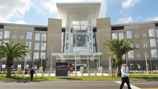 Tuesday morning May 26 dedication of the new $620 million Orlando VA Medical Center at Lake Nona.