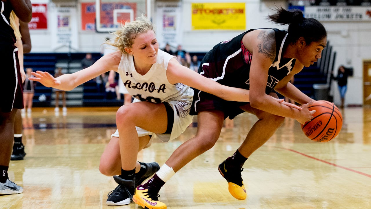 Girls basketball highlights: Alcoa vs Fulton