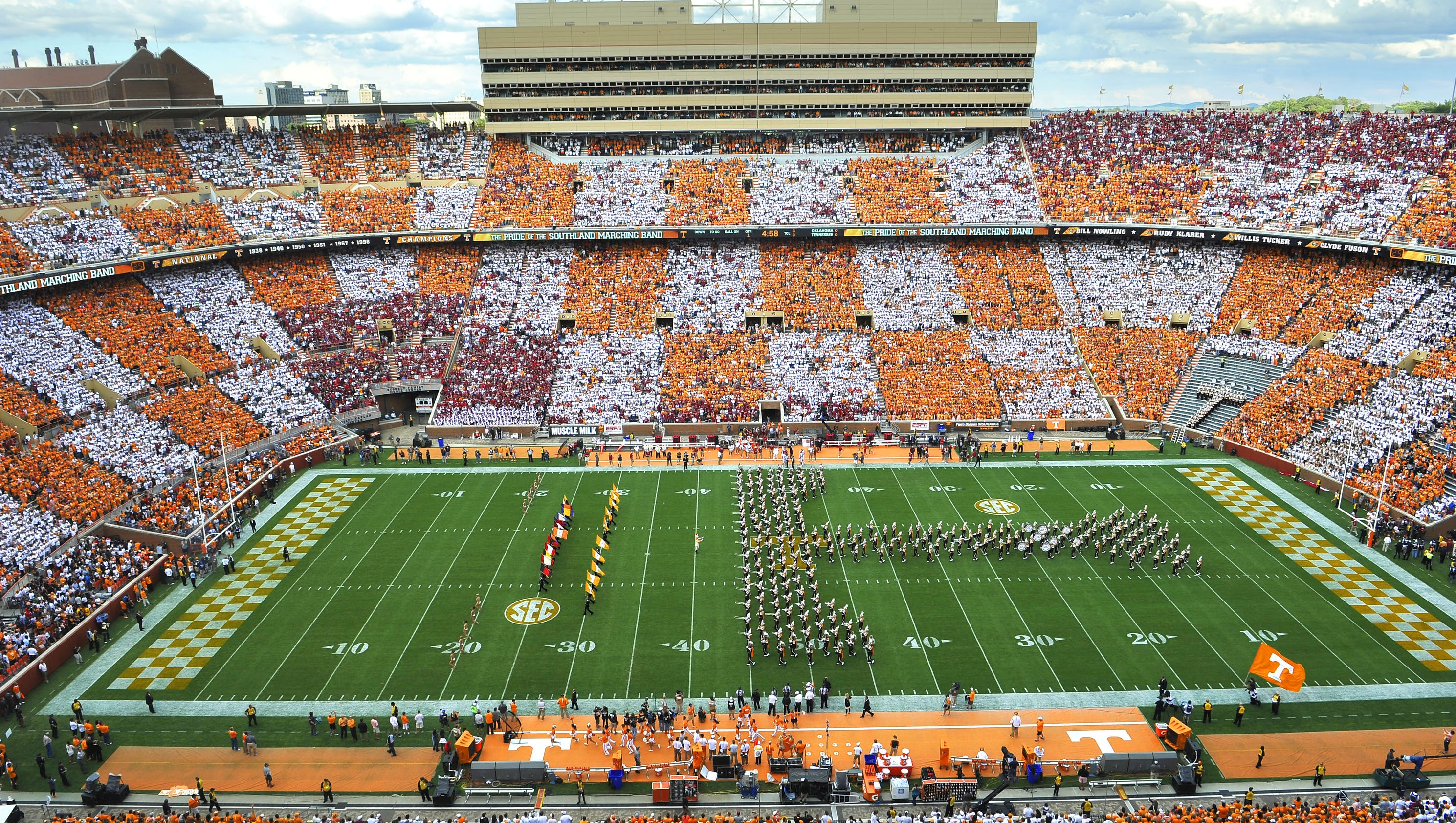 Tennessee board of trustees to consider Neyland Stadium ...