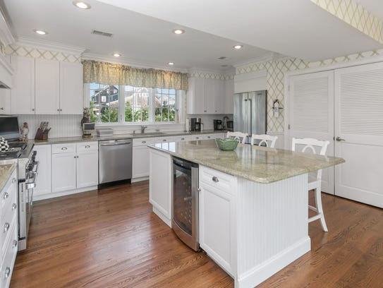 Mantoloking mansion is in a prime location for 1 kitchen asbury park nj