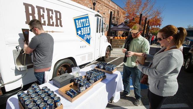 Battle Born Beer's Nevada Day launch at Lake Tahoe Brewing Co.