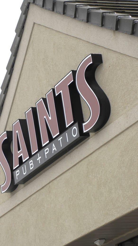 Saints Pub + Patio in West Des Moines' Bridgewood Plaza