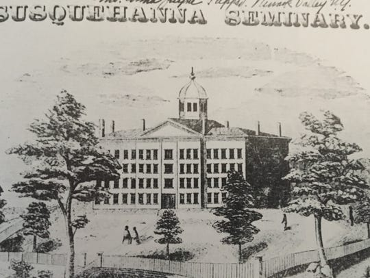 The Susquehanna Seminary building, later used for St.