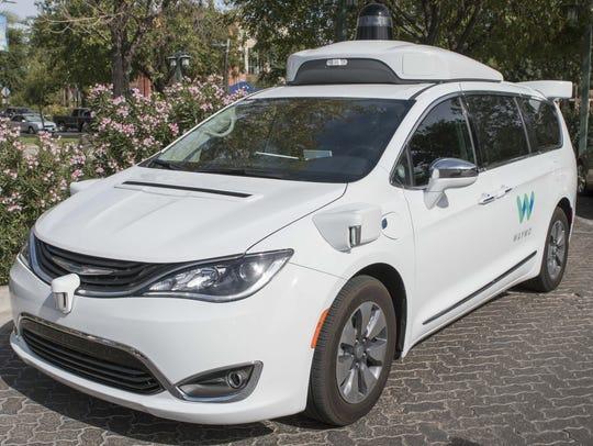 Waymo is testing self-driving vehicles in metro Phoenix.