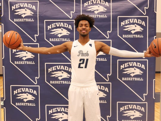 When he committed to Nevada, Jordan Brown became the