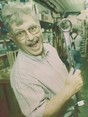This photo of Ron Simon was featured in News Journal promotional ads in the early 2000s.