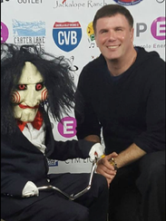 Chris Spellman appears at his first Comic Con Palm