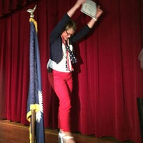 Teacher becomes U.S. citizen in ceremony at Augusta Circle Elem.