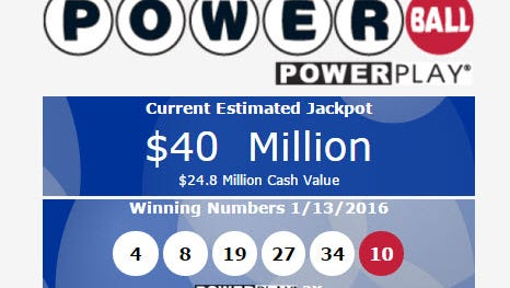 Oh well, as of early Thursday morning next  jackpot is a mere $40 million.