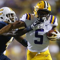 Lions take RB Guice in Kiper's latest mock draft