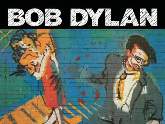 """The cover to Bob Dylan's 1989 abum, """"Oh Mercy."""""""