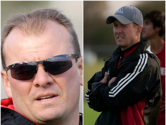 Jeff Staus (left) and Randy Staus have left a lasting impression in Lake Country area soccer as coaches at Arrowhead and Pewaukee, respectively.