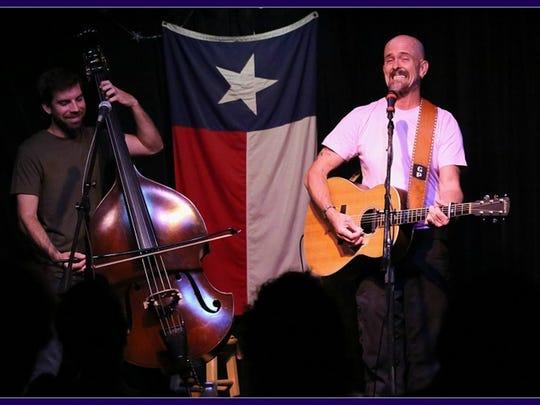 Grant Peeples and Erik Alvar  perform at Blue Tavern