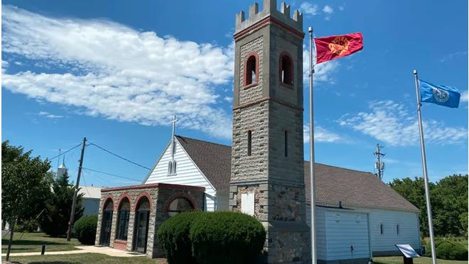 The Letterkenny Chapel, built by Italian prisoners of war in World War II, is operated by the United Churches of the Chambersburg area. PROVIDED PHOTO