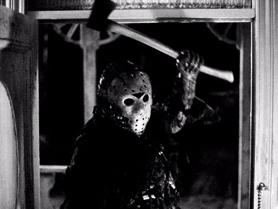 """A scene from the movie """"Friday the 13th."""""""