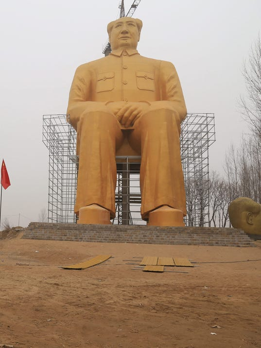 EPA CHINA CHAIRMAN MAO STATUE ACE SCULPTURE CHN HE