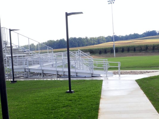 A new soccer field is ready for use this season at James Buchanan High School. The field is located behind the football stadium and tennis courts.