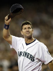 Edgar Martinez fell just short of being voted into