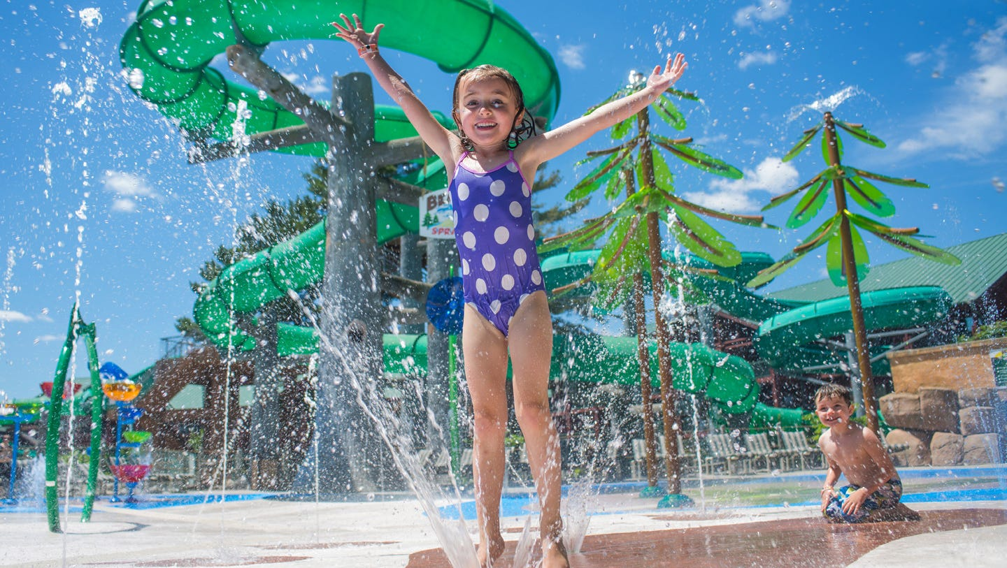 Rounding out the Top Five is Wilderness Territory, another Wisconsin Dells favorite with not one, but eight indoor and outdoor water parks. If you want to catch a wave in the country's largest indoor wave pool, this is the place to do it.