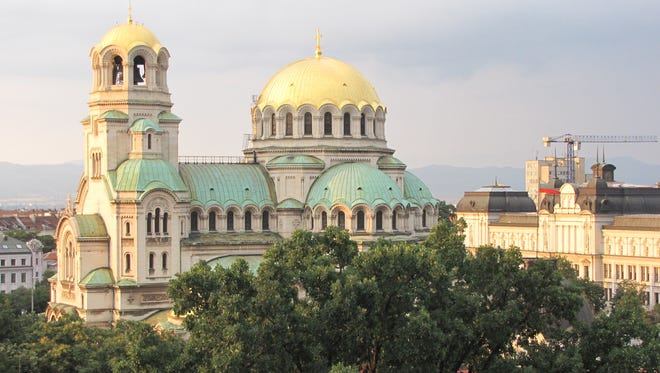 Alexander Nevsky Cathedral is Sofia's primary architectural symbol.