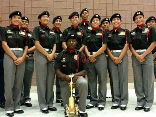 Cadets from South Fort Myers High School attended a