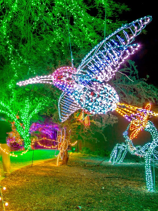 ZooLights At Phoenix Zoo Is Brighter Than Ever - Phoenix Zoo Christmas Lights