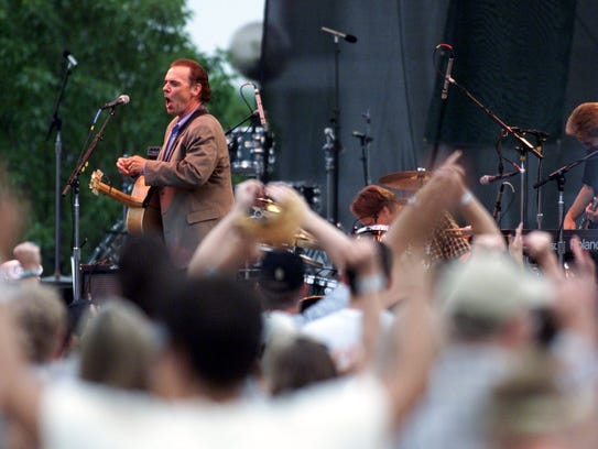 John Hiatt, 2000 Indy Jazz Fest.