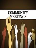 Public meetings for the week of May 31–June 3