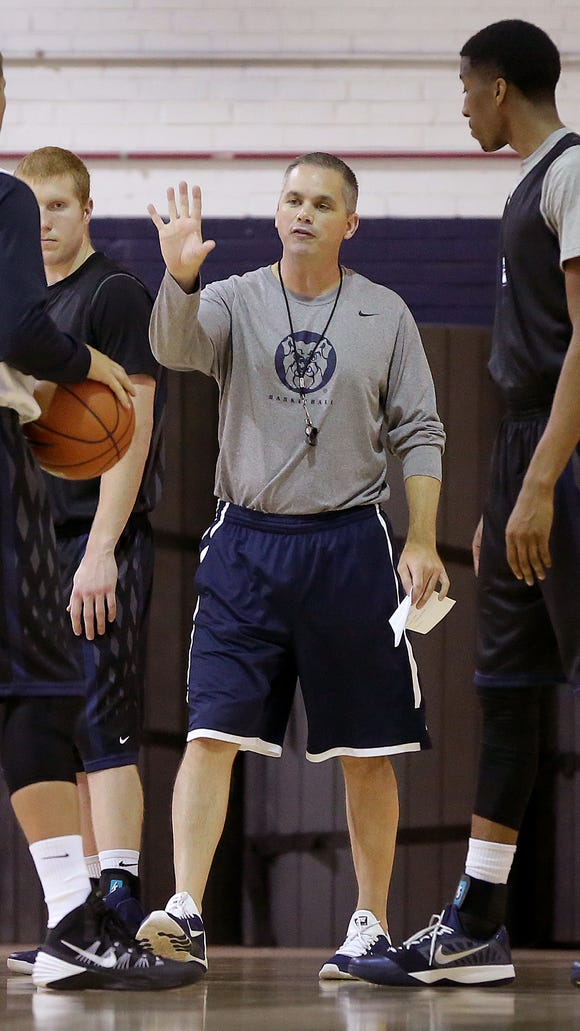 Chris Holtmann has been named interim coach of the Butler men's basketball team as Brandon Miller has requested a medical leave.