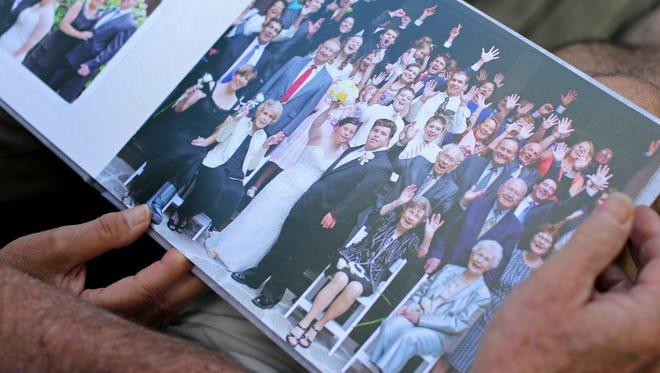 The wedding book of Jillian Daugherty Mavriplis, 26, and Ryan Mavriplis, 28. They celebrated their first wedding anniversary June 27. They were married at Cincinnati Nature Center.