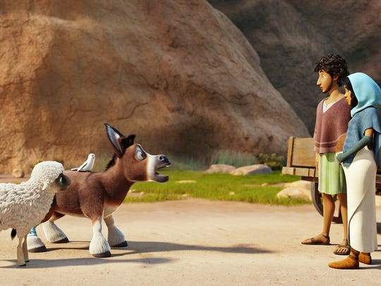 Donkey Bo (Steven Yeun) and Ruth the Sheep (Aidy Bryant)