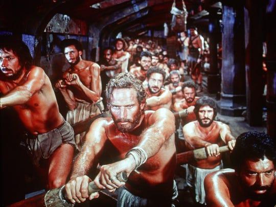 """""""Ben Hur"""": Charlton Heston needs a haircut again"""